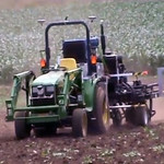 A robotic tractor and seeding machine developed at UNSW, An automatic tractor and seeding machine developed by engineers at UNSW will improve agricultural productivity for broad acre farmers and enable cropping on upwards of 20 per cent more land. stock image; stock photo;